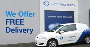 Irwins Pharmacies in Cork - We Offer FREE Delivery